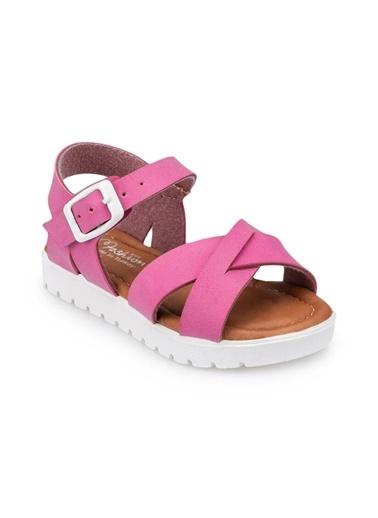 Polaris 91.508159.B Fuşya Kız Çocuk Sandalet Fuşya